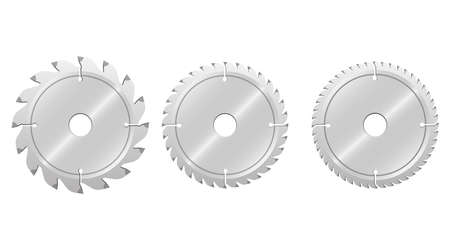 Circular saw vector design illustration isolated on white background