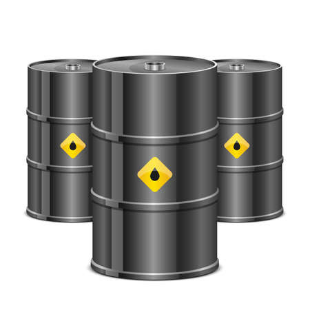 Oil barrel vector design illustration isolated on white background