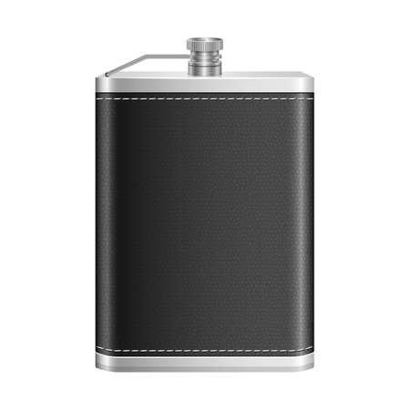Whiskey metallic bottle vector design illustration isolated on white background