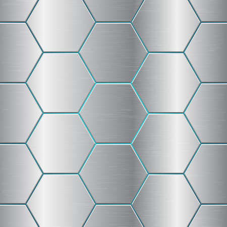 Metallic comb abstract background vector design illustration Vecteurs