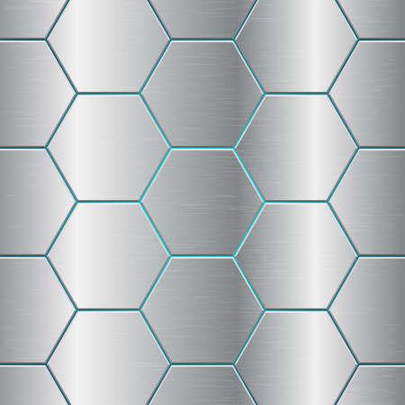Metallic comb abstract background vector design illustration Ilustração Vetorial