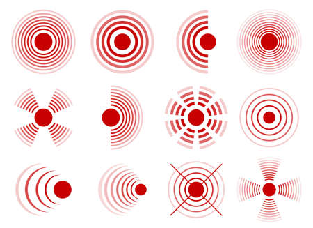 Pain circles vector design illustration isolated on white background
