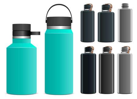 Sport water bottle vector design i llustration isolated on white background Vetores