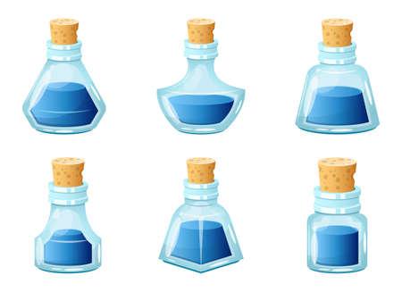 Ink bottle vector design illustration isolated on white background Vettoriali