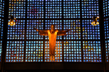 Kaiser Wilhelm Memorial Church In Berlin Stock Photo Picture And