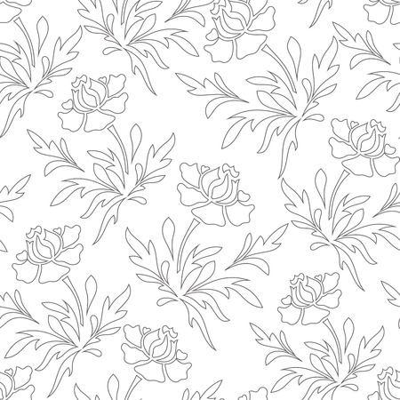 Stroke Stancil Vector seamless pattern background like pencil art. Perfect use for wall-paper, fabric, textile, wrapping paper and many other type of surface.