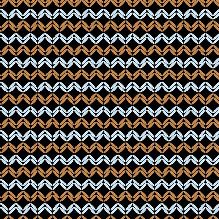 Vector knitted weave horizontal lines seamless