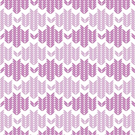 Vector knitted weave design horizontal stripes