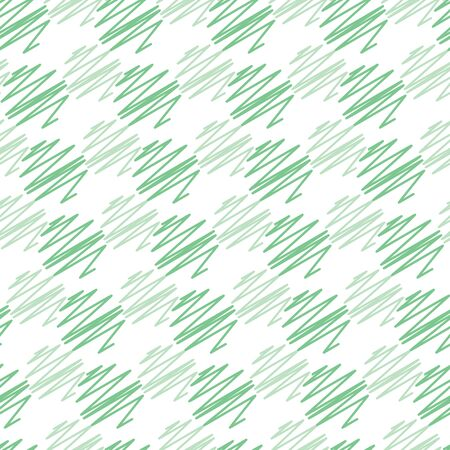 Pastel green vector scribbled circle lines