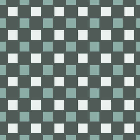 Vector green and white colored plaid or check seamless pattern background. Good use for fabric, wallpaper, kitchen towel, home decor etc.