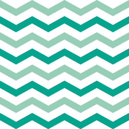 Seamless chevron background pattern in Emerald Spring colors