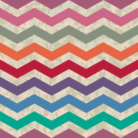 Winter Going Spring Seamless Chevron Background Pattern Vector