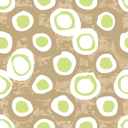 camoflage: Seamless Abstract Spring Meadow Background Pattern