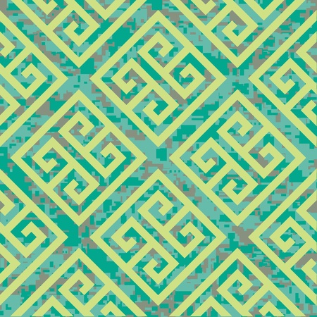 Seamless Greek Key Background Pattern