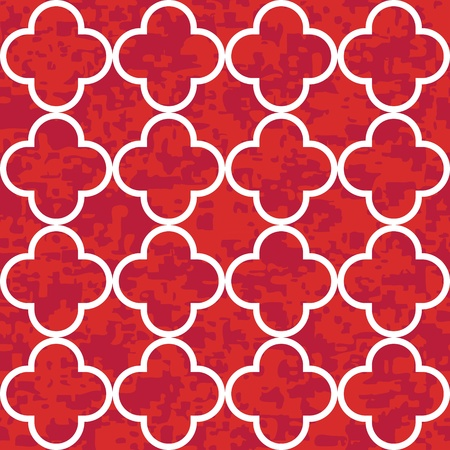 Seamless Clover Pattern Background