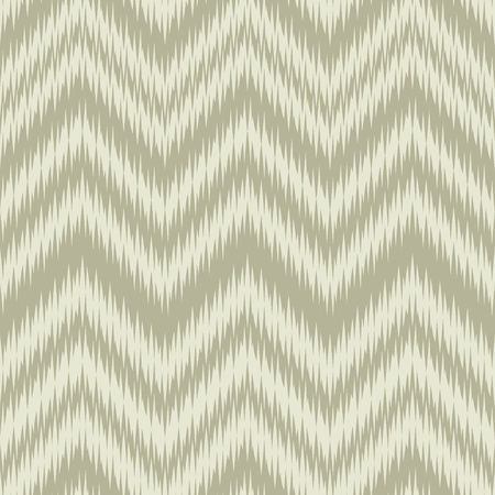 ikat: Seamless Khaki Ikat Chevron Background Pattern Illustration