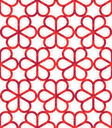 chinoiserie: Seamless Geometric Floral Chinoiserie Background Pattern