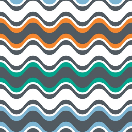 sattel: Saddle Welle Seamless Background Pattern Illustration