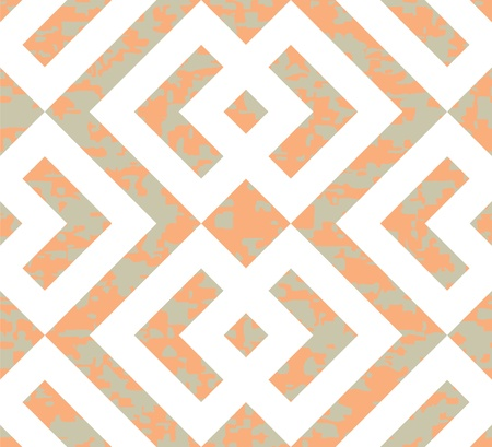 interlocked: Seamless Interlocked Squares and Arrows Geometric Background Pattern  Illustration