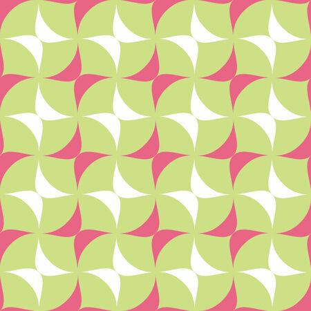 tessellation: Crisscross Ovate Seamless Background Pattern  Illustration