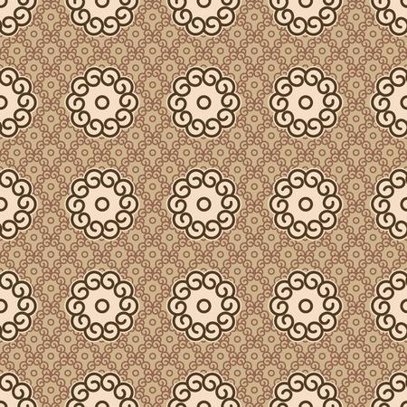 Seamless Samurai Chips Background Pattern Vector