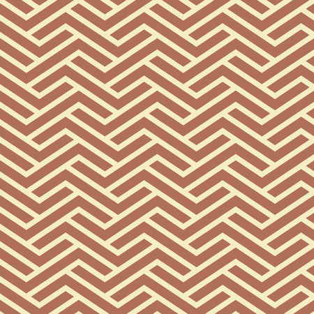 Seamless Interlocking Geometric Fret Background Pattern Banco de Imagens - 26306824