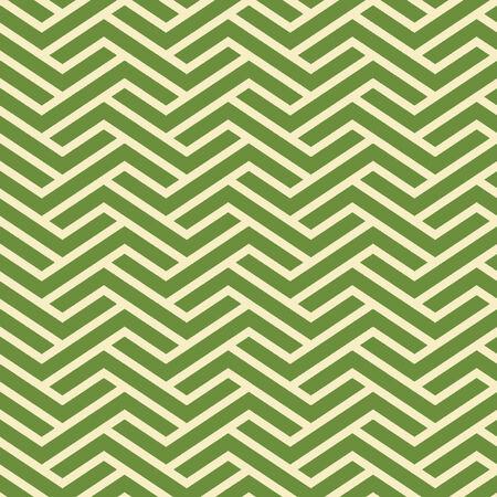 Seamless Interlocking Geometric Fret Background Pattern Banco de Imagens - 26306825