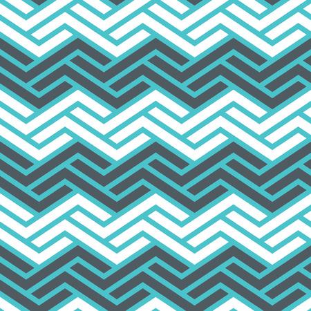 Seamless Interlocking Geometric Fret Background Pattern Banco de Imagens - 26306828