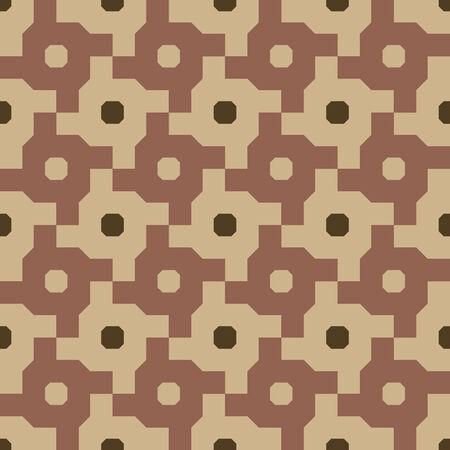 Interlocking Cross Wheel Seamless Background Pattern Banco de Imagens - 26306847