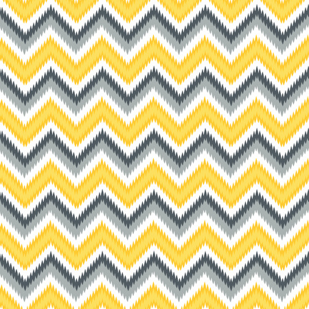 Seamless Retro Modern Chevron Ikat Background Pattern Banco de Imagens - 26306864