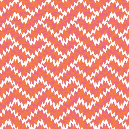 Seamless Ikat Interlocking Geometric Fret Background Pattern Banco de Imagens - 26306918