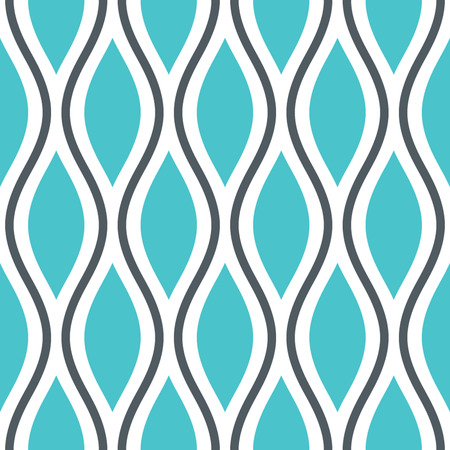 Seamless Oval and Double-S Ogee Background Pattern Banco de Imagens - 26306957