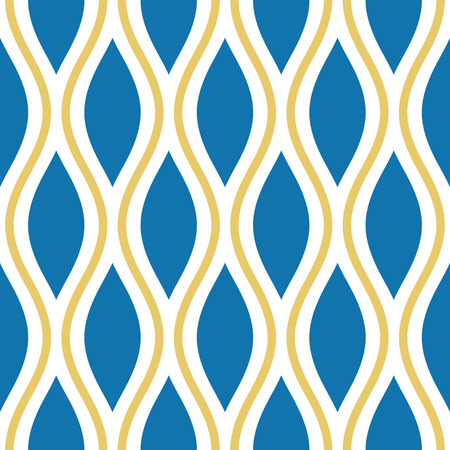 Seamless Oval and Double-S Ogee Background Pattern Banco de Imagens - 26306958