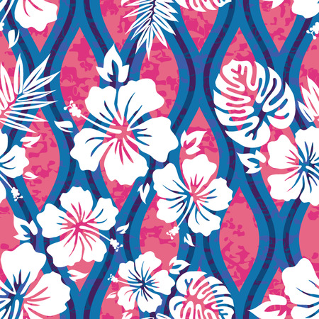 Tropical Shirt Seamless Background Pattern Banco de Imagens - 26306981