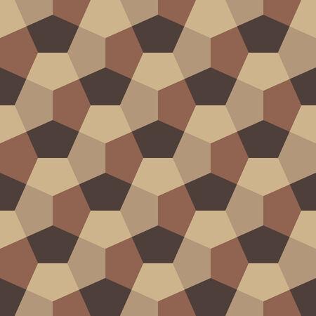 Hexagon Paper Fold Seamless Background Pattern Banco de Imagens - 26306983