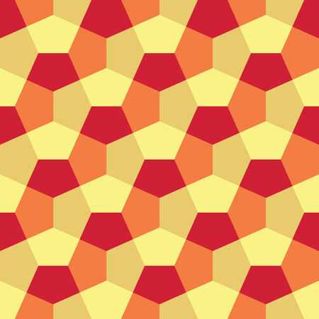 Hexagon Paper Fold Seamless Background Pattern Banco de Imagens - 26306986