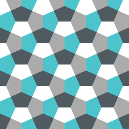 Hexagon Paper Fold Seamless Background Pattern Banco de Imagens - 26306988