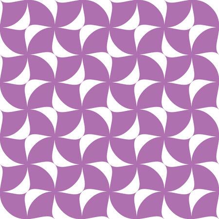 Crisscross Ovate Seamless Background Pattern