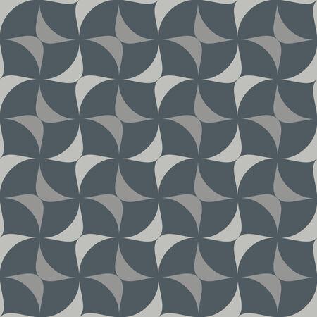 tessellation: Crisscross Ovate Seamless Background Pattern