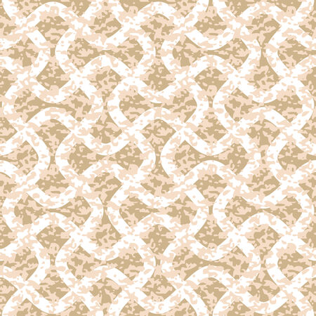 interlock: Distressed Interlocking Wave Lines Seamless Background Pattern