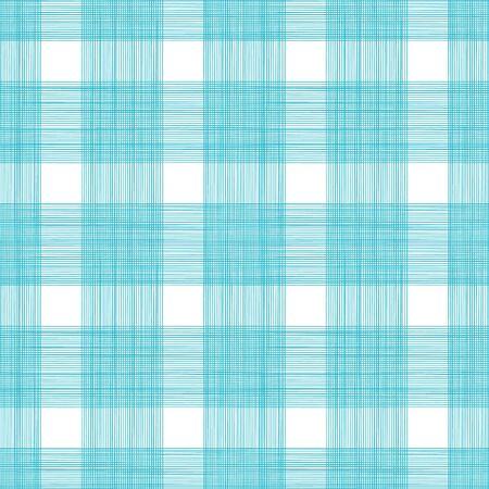cotton fabric: Seamless Gingham Print Pattern Illustration