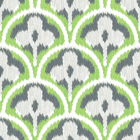 three leaf clover: Three Leaf Clover Scallop Pattern Seamless Background Tile