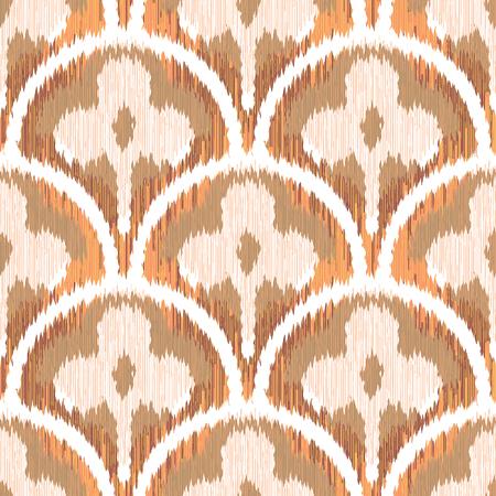 three leaf: Three Leaf Clover Scallop Pattern Seamless Background Tile