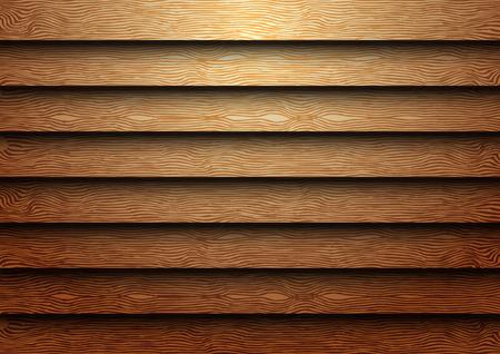 shutter: Wood shutter texture pattern vintage with light background vector illustration.
