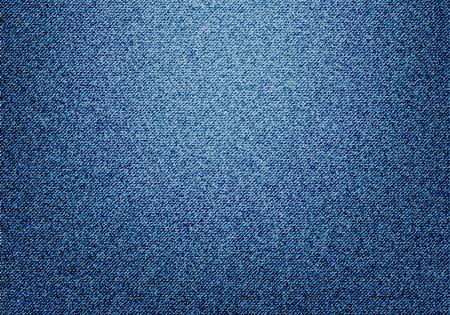 Blue jeans texture vector illustration.