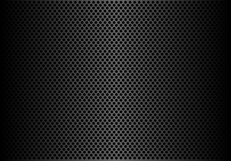 Abstract dark gray circle mesh pattern background texture vector illustration.