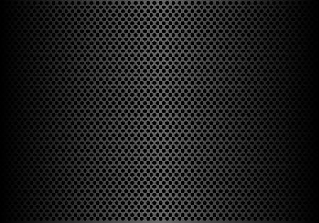 Streszczenie ciemnoszare koło siatki tło wzór tekstury ilustracji wektorowych.