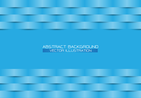 Abstract blue line woven and blank space design modern futuristic background vector illustration.