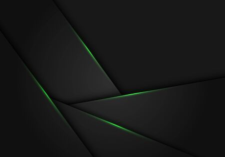Abstract Green Light On Dark Grey Metallic Polygon Design Modern Royalty Free Cliparts Vectors And Stock Illustration Image 127317947