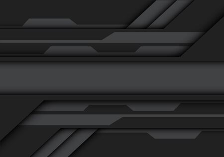 Abstract grey tone metallic design modern futuristic technology vector illustration. 向量圖像